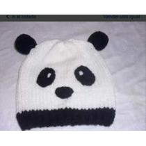 Gorro Panda Para Niños Tejido Quilmes Avellaneda Caballito