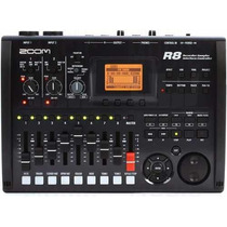 Grabador Digital Interface Zoom R8 - Controlador Usb