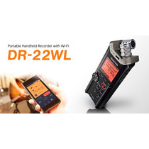 Tascam Dr22wl Grabador Digital Con Wifi - Facturas A Y B