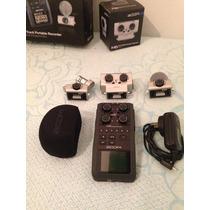 Zoom H6 Grabador Digital Portátil De 6 Canales + 2 Ch