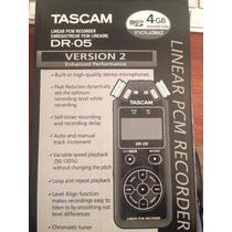 Grabadora Profesional Tascam Dr05 Version 2 4gb Nueva Orig