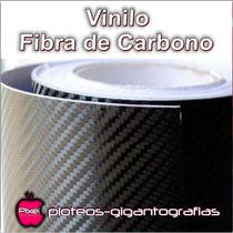 Vinilo Fibra De Carbono Autoadhesivo Ploteos Autos Techos