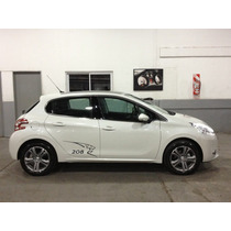 Calco Vinilo Lateral Lion Peugeot 208, 207,307 Tuning