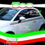 Franjas Calcos Fiat 500 Bandera Italia Edicion Especial