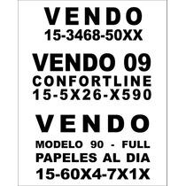 Cartel Vendo Auto   Calco Vendo Auto   Sticker Vendo Auto