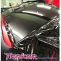 Vinilo Negro Simil Vidrio Oracal 126x1m. Auto/techos Traker