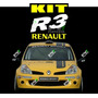 Kit Ploteo Autoadhesivo Renault R3 - Grafica - Reno Clio