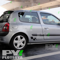 Calco Renault Sport Calcomania Ploteoya! Clio Sandero Duster