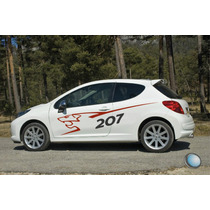Calco Peugeot 207 Rally Medidas Oficiales - Ploteo