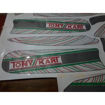 Calcos Para Pontones De Karting Tony Kart