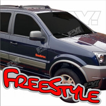 Calco Freestyle Ford Ecosport - Calcomania Ploteoya!