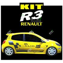 Calcos Renault R3 Cup Para - Clio, Megane Y Otros Modelos