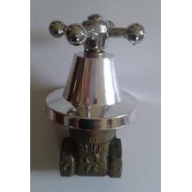 Llave De Paso Válvula Esclusa Bronce 1/2hh C/campana