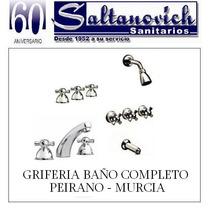 Griferia Baño (ducha,lavatorio,bidet) - Peirano Murcia