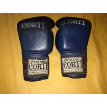 Guantes Boxeo Cuero Corti 16 Oz