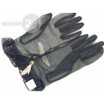 Guantes Para Dama Cortos Jersey De Nylon Color Negro Nuevos