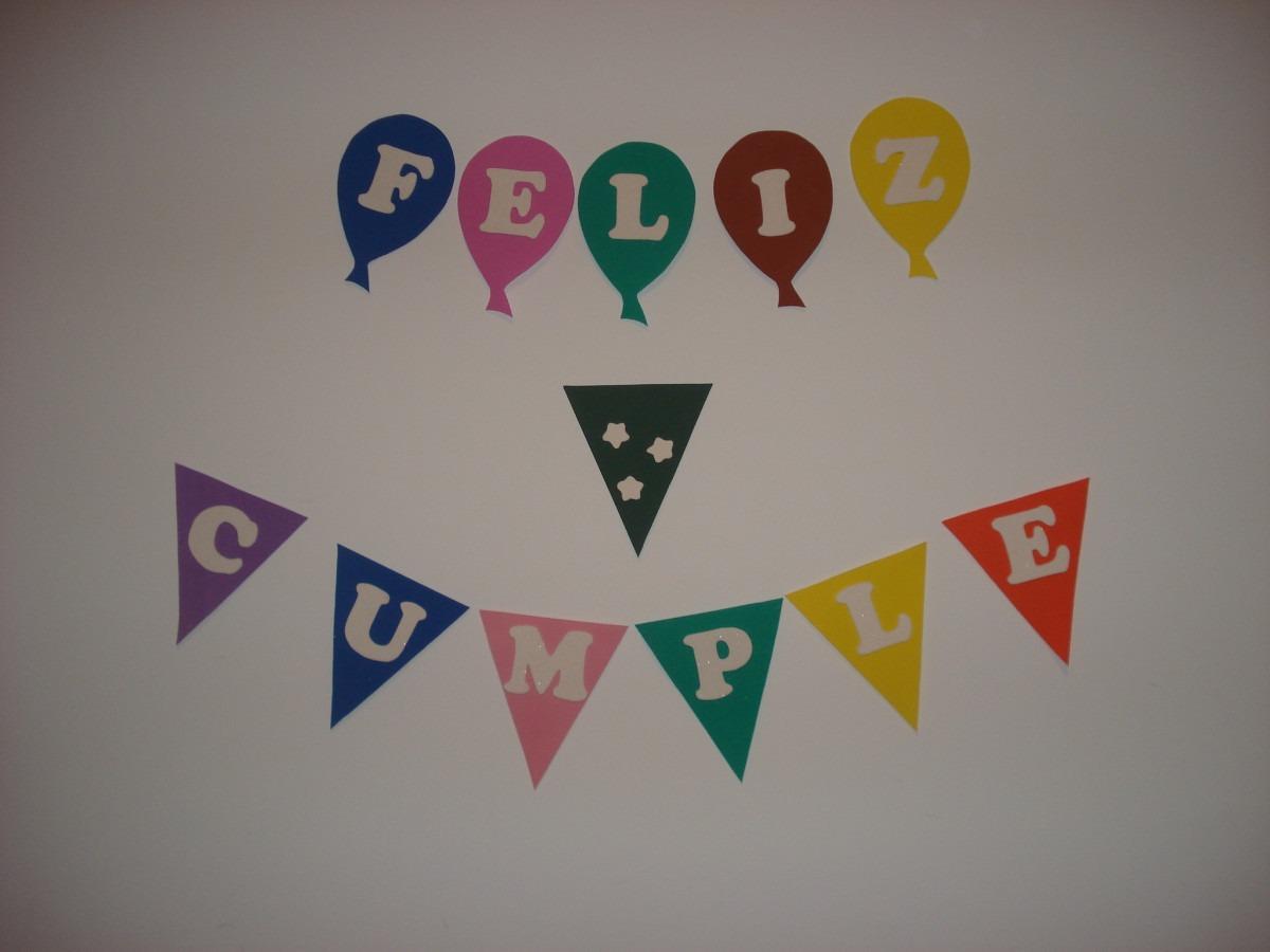 Letreros de feliz cumplea os imagui for Formas de letras para cumpleanos
