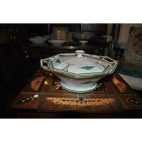 Art Deco Guisera Porcelana Francesa No Limoges