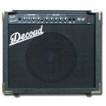 Decoud Rs60 Amplificador De Guitarra 60 Watts 12 Pulgadas