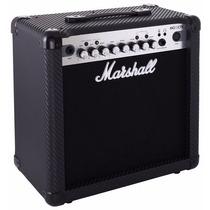 Marshall Mg-15cfx Amplificador Guitarra 15w Audiomasmusica