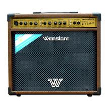 Multi Amplificador Wenstone Akb-312 Guitarra Microf Teclado