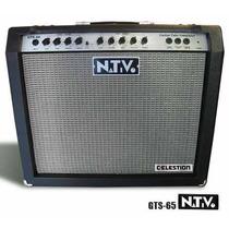 Amplificador Nativo Gts 65 Para Guitarra 65 W Tarj Sin Inter