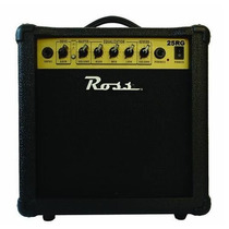 Amplificador De Guitarra 25w Ross 25 Rg Reverb