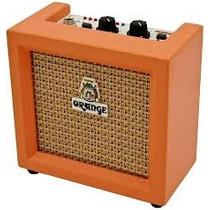 Amplificador A Bateria Orange Micro Crush Cr-3 Mini Amplif