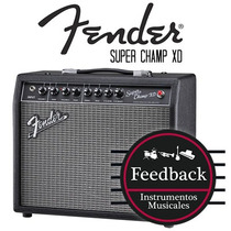 Fender Super Champ Xd - Amplificador Valvular 15w