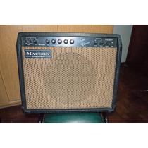 Amplificador De Guitarra Macson Tone Classic Combo