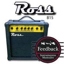Ross B15 - Amplificador Para Bajo 15w