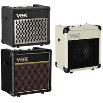 Vox Mini 5 Amplificador Portatil Guitarra Mp3 Microfono Fxs!