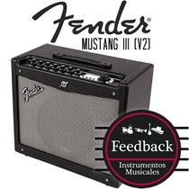 Fender Mustang Iii (v2) - Amplificador P/guitarra 100w Trans