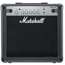 Amplificador De Guitarra Marshall Mg15cf 15watt 2 Canales