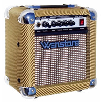 Amplificador De Guitarra Wenstone Guitar10 10w Rms Vintage