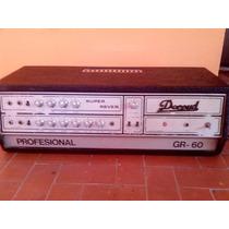 Cabezal Valvular De Guitarra Decoud 60w