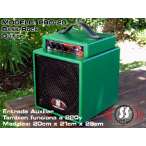 Amplificador De Guitarra Portátil Batería Recargable 20 W