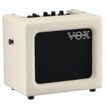 Vox Mini 3 Amplificador Portatil 3 Watts Con Efecto Ivory