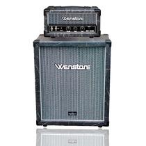 Wenstone Mini Killer Cabezal Valvular Guitarra + Caja 2x12