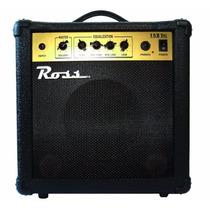 Amplificador Para Bajo Ross De 15w