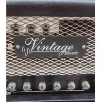 Equipo De Guitarra Valvular Vintage Electric 100 Watts