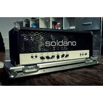 Cabezal Soldano Hot Rod 50 -inmaculado- 1992´