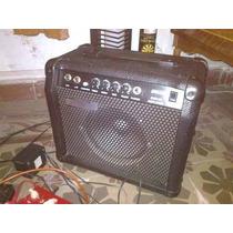 Amplificador De Guitarra Accord 25 W Como Nuevo