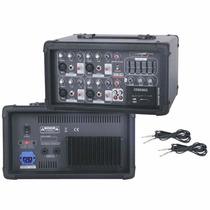 Consola Mixer Potenciado Ma6200 6ch Blg C/usb