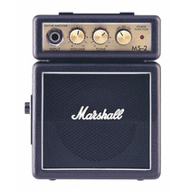 Mini Amplificador Marshall Ms-2 Marshallito