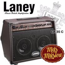 Laney La 35c Amplificador Guitarra Acustica 35 Wts