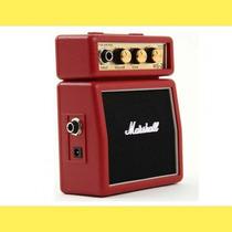 Mini Amplificador Marshall Ms-2r Para Guitarra