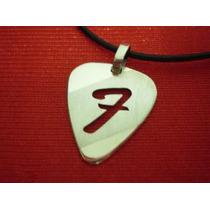 Pua Fender - Dije Plata 925