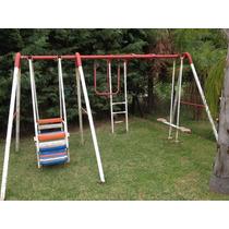 Juegos De Plaza-jardin Para Niños Usado Con Hamacas