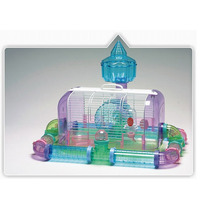 Hamstera Transparente Acrilica, Con Tubos Exteriores